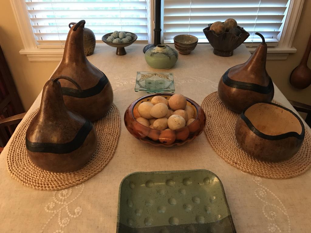 Decorative Gourd Workshop - Hills & Dales Estate on decorative gourd lamps, decorative gourd art, decorative gourd birdhouses, decorative gourd dolls, decorative gourds and squash, decorative gourd vessels,